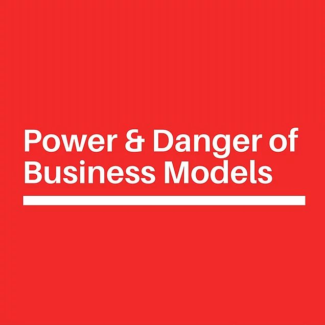 Consultants and the power and danger of their models to your business